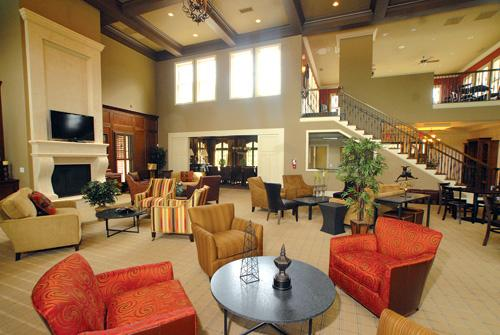 The Woodcreek clubhouse