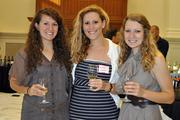 Helping to raise money for the Wine to Water Society are Karrah Durham, Brittneee Rambo and Chandler Thompson.