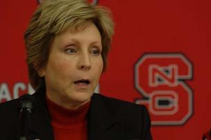 N.C. State Athletics Director Debbie Yow.