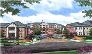 Construction of the 434-unit Allister North Hills apartment community is already underway on Ramblewood Drive, located off of Six Forks Road at the southwest corner of the intersection with Interstate 440.