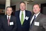 Ken Mitchell, Gregg Davis and Steve Hartman were several of the attendees during the BPOY luncheon.