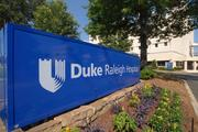 Duke Raleigh Hospital is one of this year's Best Places to Work winners.