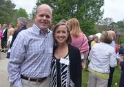 Novella Clinical's Richard Staub and wife Libby smile for the camera.