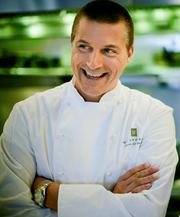 Chef Scott Crawford of Herons at the Umstead.