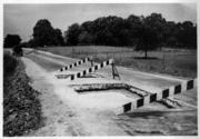 This photo shows U.S. 64 east of Raleigh back in 1950.