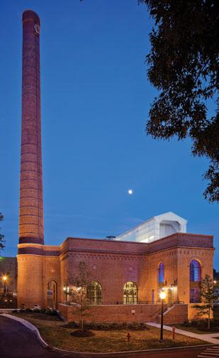 The Duke steam plant project has won numerous awards.