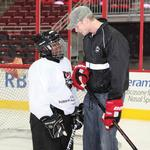 Players, coaches get involved in community