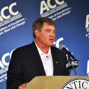 John Swofford is the commissioner of the ACC.