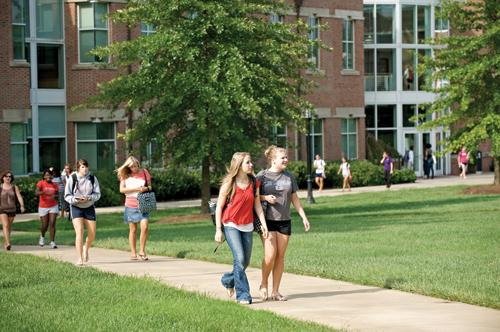 After a downturn in applications at Meredith College, the trend is now upward.