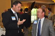 A couple of past winners, Sid Mitchener of Vaco Raleigh and Phillip Frye of North State Bank.