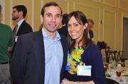 Coldwell Banker's Jim Harris with wife Stephanie.