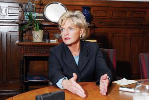 Gov. Beverly Perdue will be happy to hear that North Carolina moved up in the rankings.