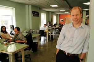 Chris Gergen likes ideas to help foreign students.