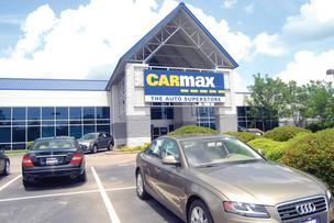 A CarMax location in Raleigh, N.C.