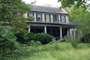 The Crabtree Jones House off Wake Forest Road in Raleigh has seen better days.