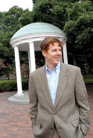 David Greer leads the funding effort for UNC's Institute for the environment.