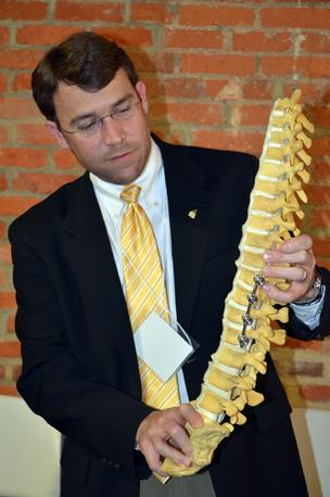 David Smitherman, CEO of Wake Forest startup, Orthovative Technologies wants to raise $300,000.