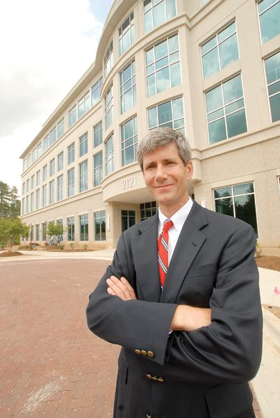 Gregg Sandreuter is developing the West complex in downtown Raleigh.