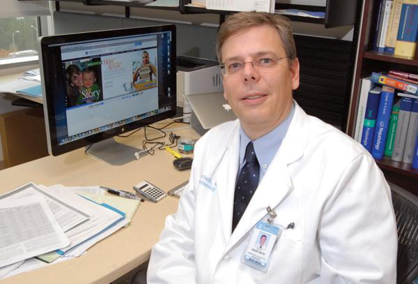 Hans Herfarth is the primary investigator at UNC-CH on the project.