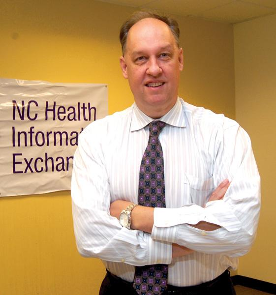 Jeff Miller heads up the N.C. Health Information Exchange.