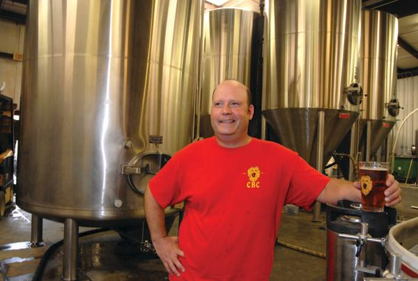 Co-owner Joe Zonin says he brews the beers he enjoys drinking.