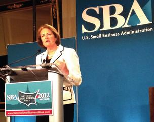 SBA Administrator Karen Mills in a May 2012 photo.