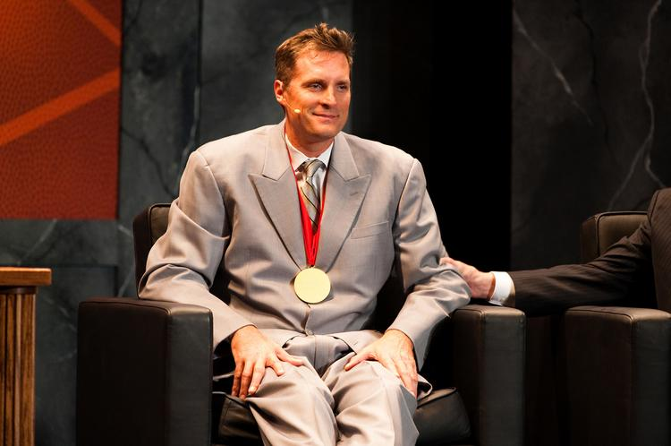 Former Duke basketball player Christian Laettner.