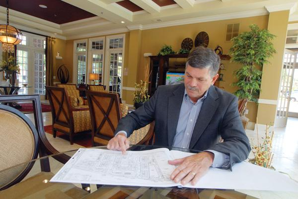 Mike Underwood says full-steam ahead for apartments.