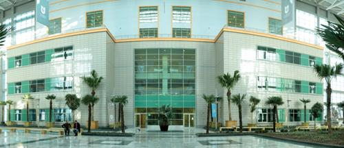 One of the buildings at Nazarbayev University in Kazakhstan.