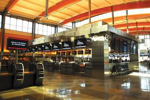 Terminal concessions represent a significant source of revenue for RDU International Airport. Terminal 2 is pictured here.