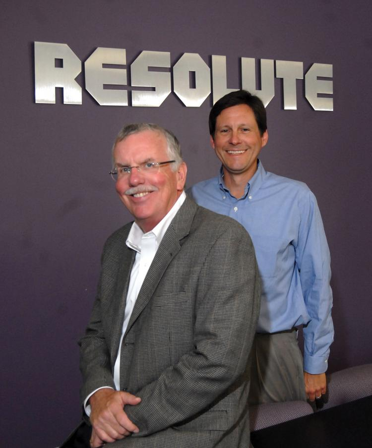 From left, founder and Chairman Dave Anna and CEO Joe Hatcher.