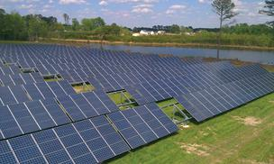 O2 Energies' solar farm in Elm City.