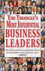 (L-P) Triangle's Most Influential Business Leaders