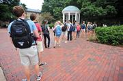 No. 4: UNC-Chapel Hill ranks fourth on our list with a total enrollment of 25,824 as of Fall 2012.