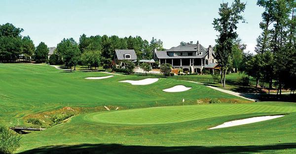 Designed by golfer Hale Irwin, the TPC Wakefield Plantation course is the central feature of the Wakefield residential community in north Raleigh.