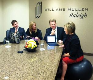 At Williams Mullins law firm, healthy living is a priority.