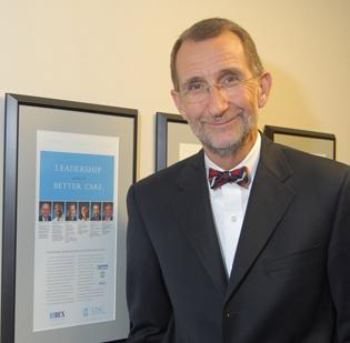 Dr. Bill Roper is the CEO at UNC Health Care.