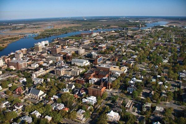 Wilmington is a coastal city in North Carolina.