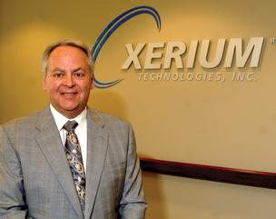 Stephen Light heads up Xerium Technologies in Raleigh.