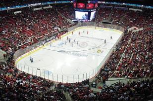 The Carolina Hurricanes will show its fans extra appreciation during its final three home games.