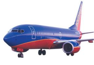 Southwest carries the most passengers of any major carrier at RDU.
