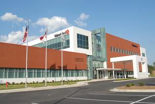 The WakeMed Raleigh Medical Park building on Sunnybrook Road in Raleigh opened in June.