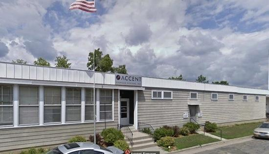 Accent Signage Systems, the Minneapolis company where six people were killed by a fired worker last year, has been sued by the family of one of the victims.