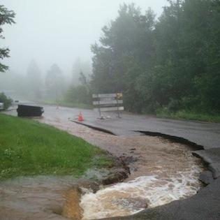 Duluth's roadways suffered heavily in the flooding, but attractions weathered the storm better.