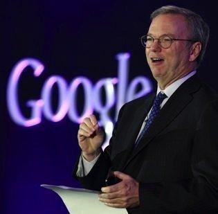 Google Inc.'s Eric Schmidt