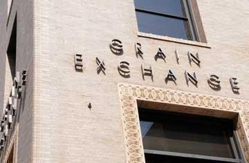 The Minneapolis Grain Exchange building.