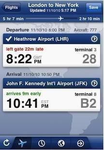 Mobiata's popular FlightTrack app