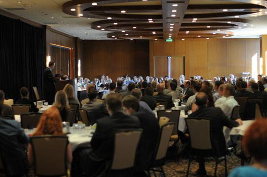 More than 200 people attended the Opportunity North Dakota event, which was held at Windows onMinnesota in the IDS Center in downtownMinneapolis.