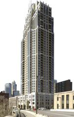 Office suites planned for Carlyle condo tower