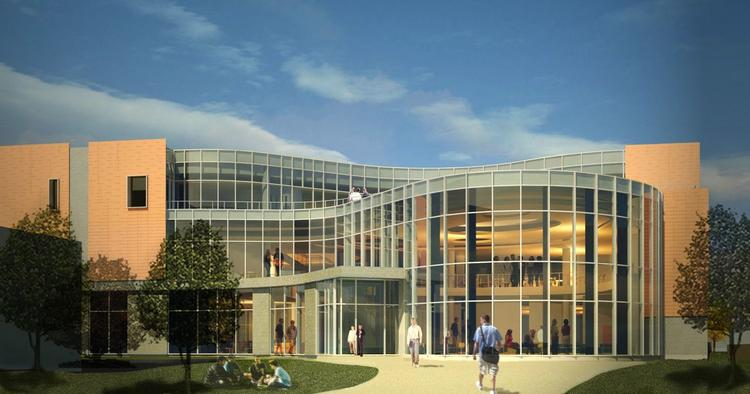 Hamline University in St. Paul will break ground Monday on the Carol Young Anderson and Dennis Anderson University Center.